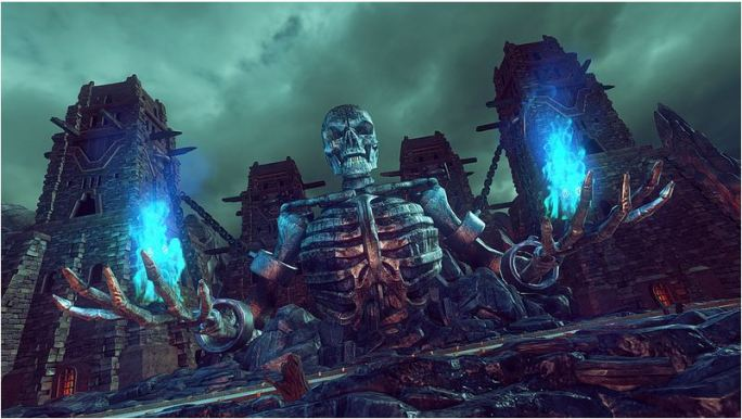 Golden Axe Character Select Skeleton in Sonic & All-Stars Racing Transformed