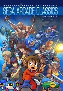 "Sega Arcade Classics Volume 1 cover, by Jonathan ""Persona"" Kim"